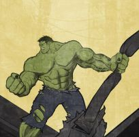 The Incredible Hulk by Toks-S