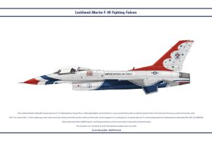 F-16C Thunderbird 1 by WS-Clave