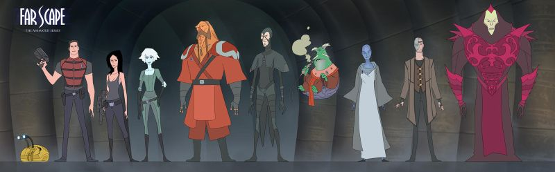 Farscape Animated...again by drazebot