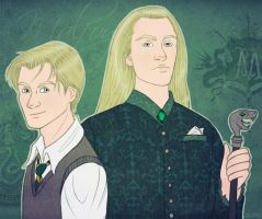 Draco and Lucius by ggns