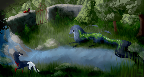 Fated Encounter by mamasaurus