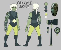 Crocodile Jasper Ref by kidcub