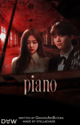 Piano / Wattpad Book Cover 35 by sahlimamat