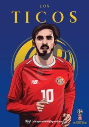Costa Rica - Bryan Ruiz by dicky10official