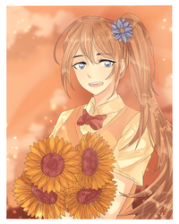 Sunflower by okqwerq