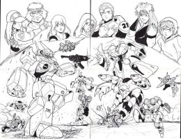 Robotech New Generation Team by glane21