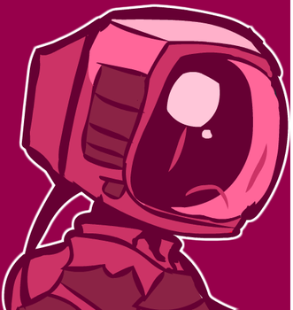 Boy with a Tv head by Pixelteriyaki