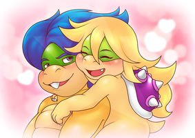 Smiling with you by AmarLthePlumber