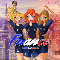 Winx Club - World Cup 2018 by Feeleam