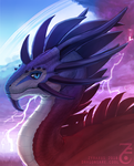 Zyraxus the Storm Dragon by Zyraxus