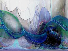 Sea Abstract by GypsyH