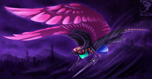 Comish - Flying on Dreams by TwilightSaint