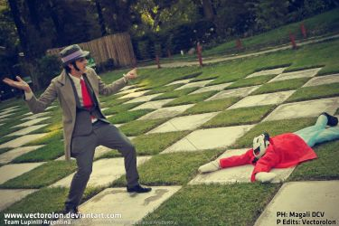 Team LupinIII Cosplay Feb2014 vintage29 by Vectorolon