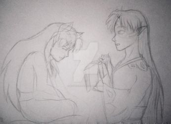 Inuyasha, you can't read? by NightFurion