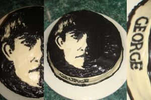 BeatlesCake-George by HappilyDeluded889