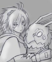 Ezreal and Kog'Maw 2 by FeatherHarp