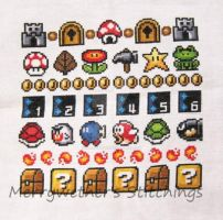 Super Mario 3 All Stars Band Sampler by merrywether