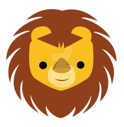 Lion head logo by CherryFactory