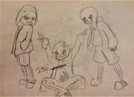 TheHorrorSans_ Crew by LibraryCrew