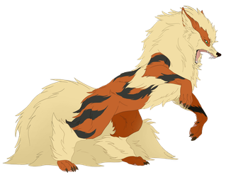 Arcanine by mereni