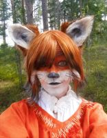 Fox makeup by qirindesign
