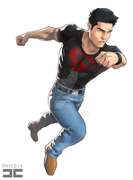 Superboy by Pryce14