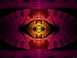 Cheshire Cat's Eye by FracFx