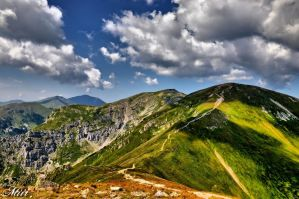 Mountains - Summer - Tatry - Czerwone Wierchy by miirex