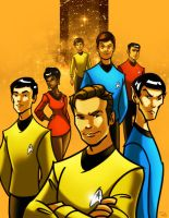 Star Trek: The Original Series by RayOcampo