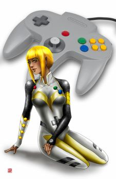 N64 Controller by TyrineCarver