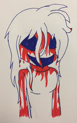 Bloody Mary (Inktober #3) by PanKakeQueen