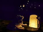 Weekly Quest- New Light by magikwolf