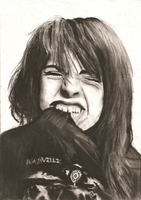 Charcoal Hayley Williams by dizzywater