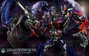 Transformers Movie Optimus 2 by CodeXCDM