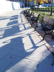 Benches by flickering-photos612