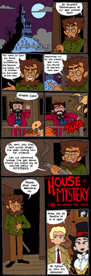 House of Mystery page 1 by Zal001