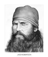 Duck Dynasty: Jase Robertson by gregchapin