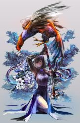 re: a fighting foul and a katana girl by amatoy