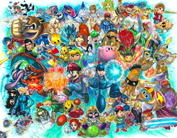 Super Smash Bros. for 3DS and Wii U!! by Pixelated-Takkun
