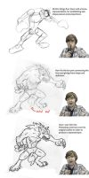 Werewolf Step By Step by Jeremy-Burner