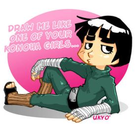 Draw me like one of your Konoha girls... by Uky0