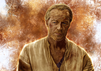 Game of Thrones - Jorah Mormont by p1xer
