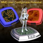 MMD User Configurable Figure Stand by Trackdancer