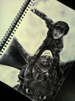 How to Train Your Dragon by XionCloudHeaven
