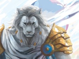 MTG - Ajani - Blind Eternities (PRINT ON SALE!) by Lilith-the-5th