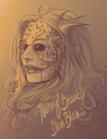 Thorny Beauty Blah Blah by Sempaiko