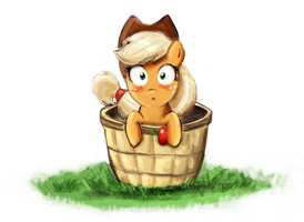 Little Applejack by AdlerToberg