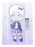 Outfit Adoptable #1 (AUCTION - CLOSED) by Zharleste
