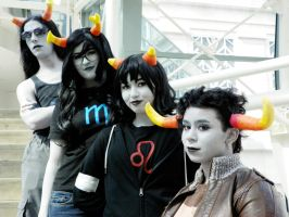 Lined up by QPUPcosplay