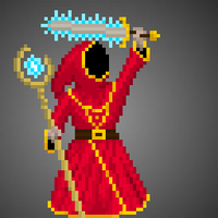 Magicka Pixel Fan Art by VikingCheese